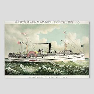 Steamer Penobscot - 1883 Postcards (Package of 8)