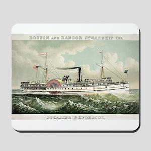 Steamer Penobscot - 1883 Mousepad