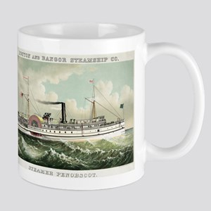 Steamer Penobscot - 1883 11 oz Ceramic Mug
