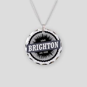Brighton Ski Resort Utah Bla Necklace Circle Charm