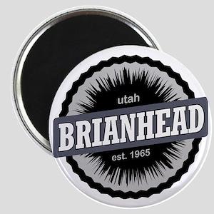 Brian Head Ski Resort Utah Black Magnet
