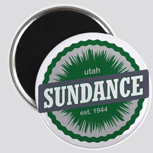 Sundance Ski Resort Utah Green Magnet