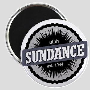 Sundance Ski Resort Utah Black Magnet