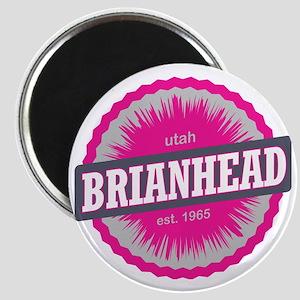 Brian Head Ski Resort Utah Pink Magnet