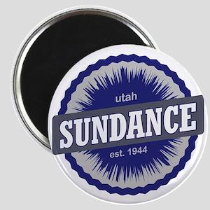 Sundance Ski Resort Utah Blue Magnet