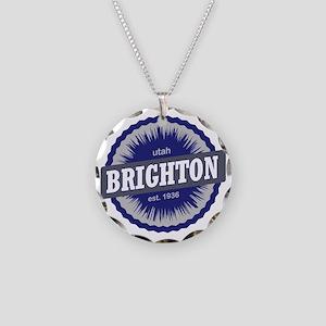 Brighton Ski Resort Utah Blu Necklace Circle Charm