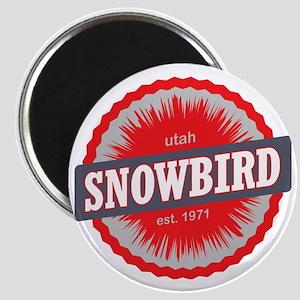Snowbird Ski Resort Utah Red Magnet