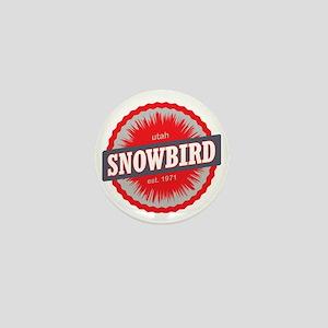 Snowbird Ski Resort Utah Red Mini Button