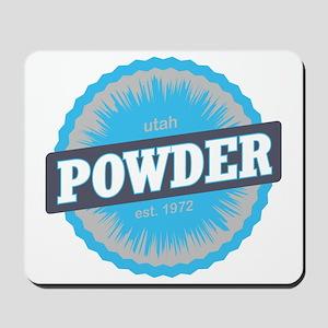 Powder Mountain Ski Resort Utah Sky Blue Mousepad