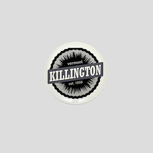 Killington Ski Resort Vermont Black Mini Button