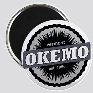 Okemo Mountain Ski Resort Vermont Black Magnet