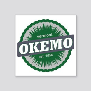 "Okemo Mountain Ski Resort V Square Sticker 3"" x 3"""