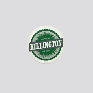 Killington Ski Resort Vermont Dark Gre Mini Button