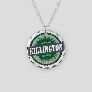 Killington Ski Resort Vermon Necklace Circle Charm