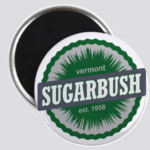 Sugarbush Resort Ski Resort Vermont Dark Gr Magnet