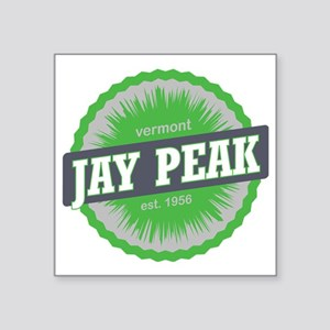 "Jay Peak Ski Resort Vermont Square Sticker 3"" x 3"""