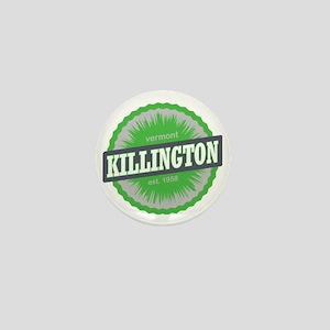 Killington Ski Resort Vermont Lime Gre Mini Button