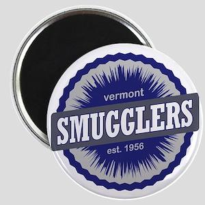 Smugglers Notch Ski Resort Vermont Navy Blu Magnet
