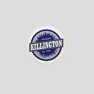 Killington Ski Resort Vermont Navy Blu Mini Button