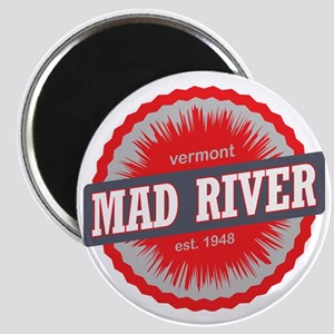 Mad River Glen Ski Resort Vermont Red Magnet