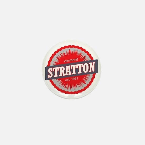 Stratton Mountain Ski Resort Vermont R Mini Button