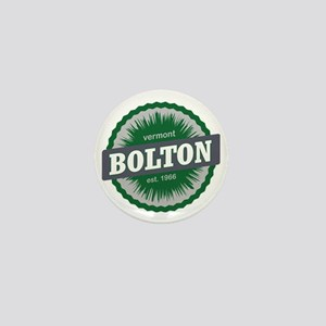 Bolton Valley Ski Resort Vermont Dark  Mini Button