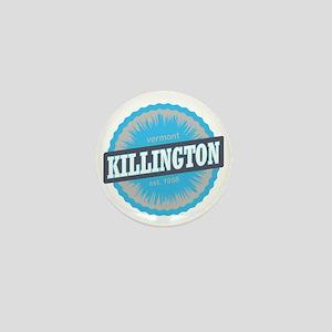 Killington Ski Resort Vermont Sky Blue Mini Button