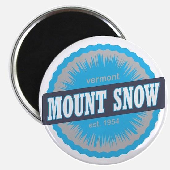 Mount Snow Ski Resort Vermont Sky Blue Magnet