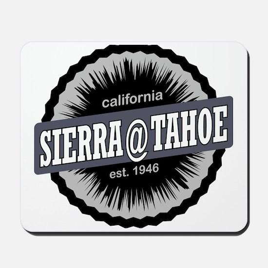 Sierra-at-Tahoe Ski Resort California Bl Mousepad