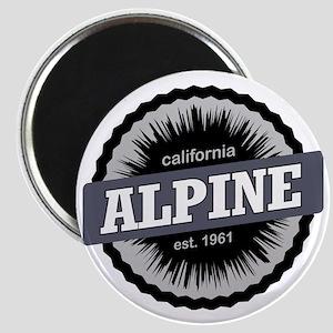 Alpine Meadows Ski Resort Ski Resort Califo Magnet
