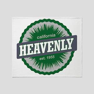 Heavenly Mountain Resort Ski Resort  Throw Blanket