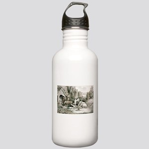 The happy family - 1869 Water Bottle