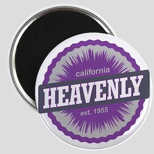 Heavenly Mountain Ski Resort California Pur Magnet