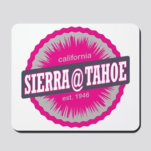 Sierra-at-Tahoe Ski Resort California Pi Mousepad