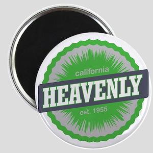 Heavenly Mountain Ski Resort California Lim Magnet
