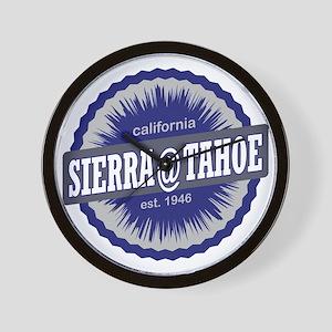 Sierra-at-Tahoe Ski Resort California N Wall Clock