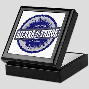 Sierra-at-Tahoe Ski Resort California Keepsake Box