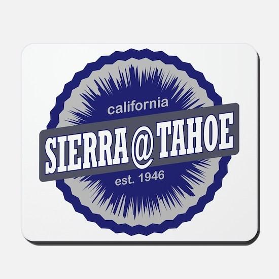 Sierra-at-Tahoe Ski Resort California Na Mousepad