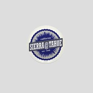 Sierra-at-Tahoe Ski Resort California  Mini Button