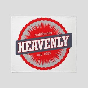 Heavenly Mountain Ski Resort Califor Throw Blanket