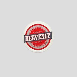Heavenly Mountain Ski Resort Californi Mini Button
