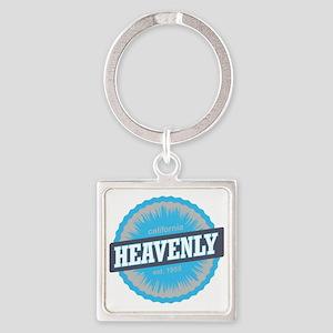 Heavenly Mountain Ski Resort Calif Square Keychain