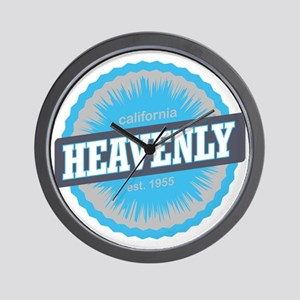 Heavenly Mountain Ski Resort California Wall Clock