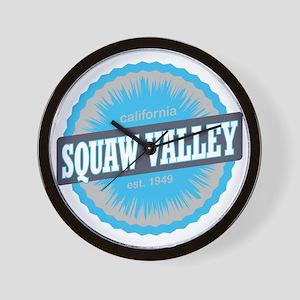 Squaw Valley Ski Resort California Sky  Wall Clock