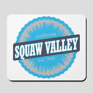 Squaw Valley Ski Resort California Sky B Mousepad