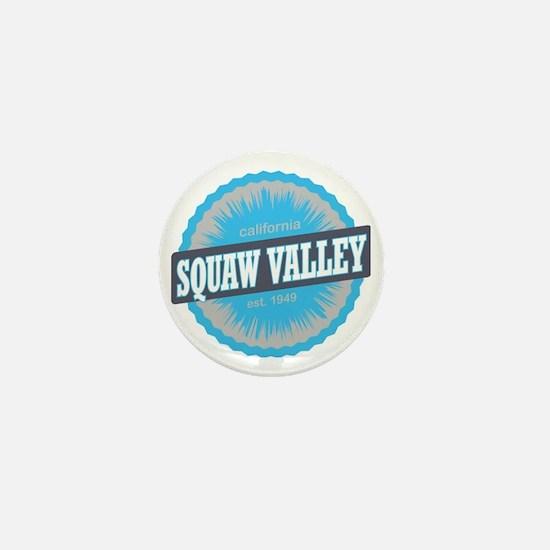 Squaw Valley Ski Resort California Sky Mini Button