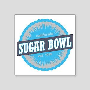 "Sugar Bowl Ski Resort Calif Square Sticker 3"" x 3"""