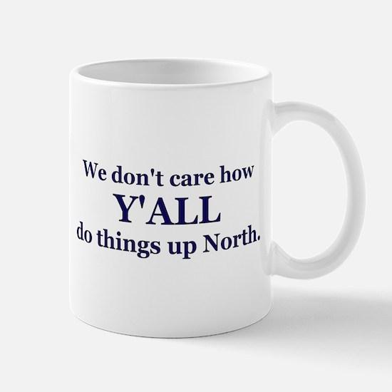 Y'all up North Mug