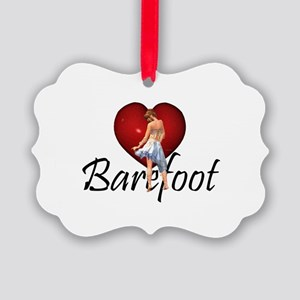 Barefoot Dance Picture Ornament