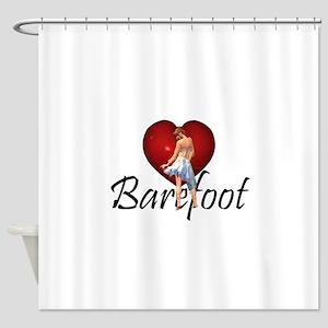 Barefoot Dance Shower Curtain